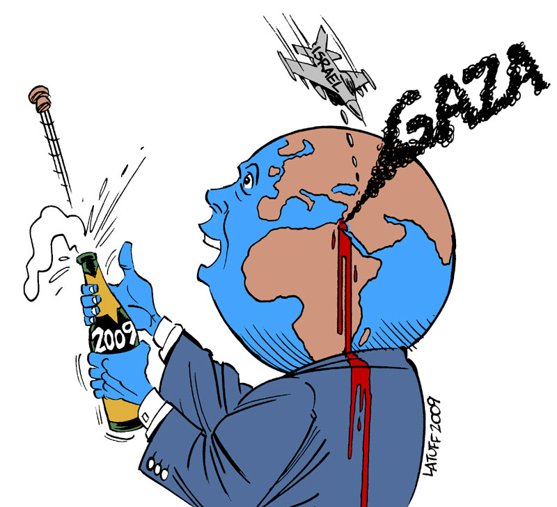 No Happy New Year for Gaza