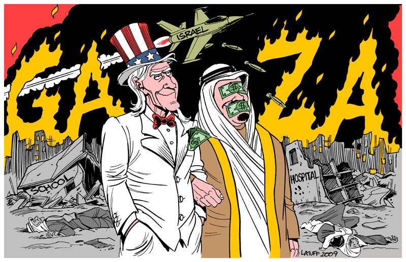 Gaza, USA and the Arab regimes