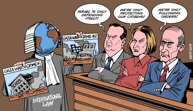 Gaza war crimes by Latuff2