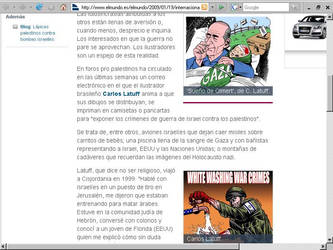 Interview for El Mundo by Latuff2