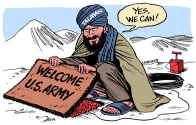 Obama's War by Latuff2