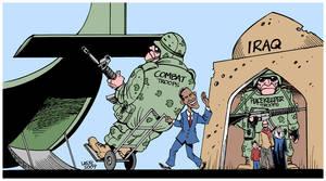 Obama's Iraq 'withdrawal'