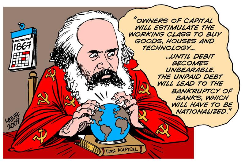 Karl Marx, The Prophet by Latuff2