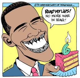 6th anniversary of Iraq War by Latuff2