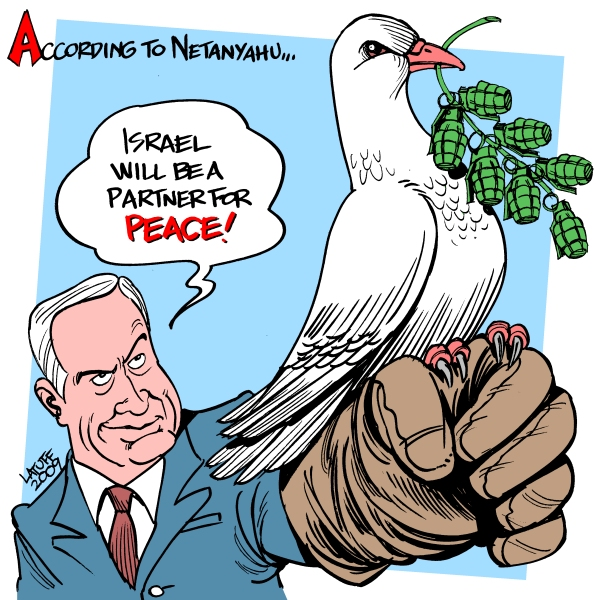 Israel April Fool's Day by Latuff2