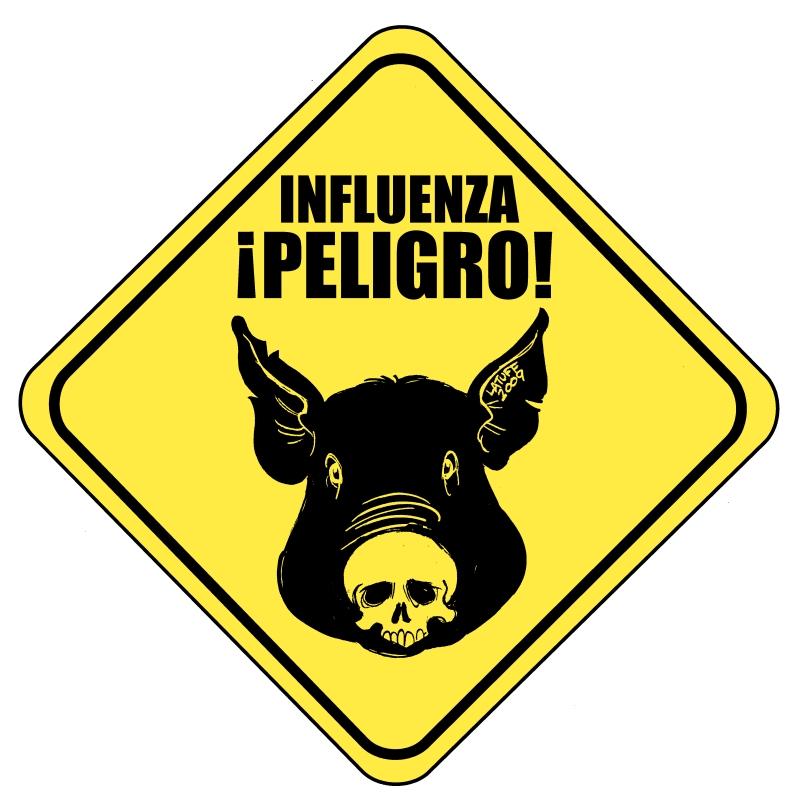 Swine Flu by Latuff2