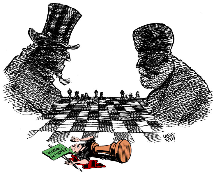 what is the us relationship with iran