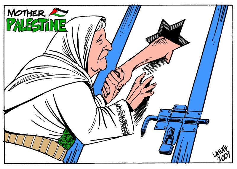 PalestinianPolitical Prisoners by Latuff2