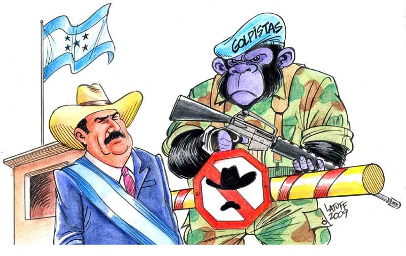 Honduras by Latuff2