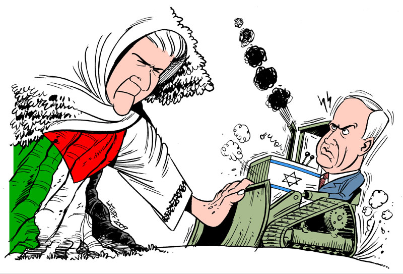 Mother Palestine, RESISTANCE by Latuff2