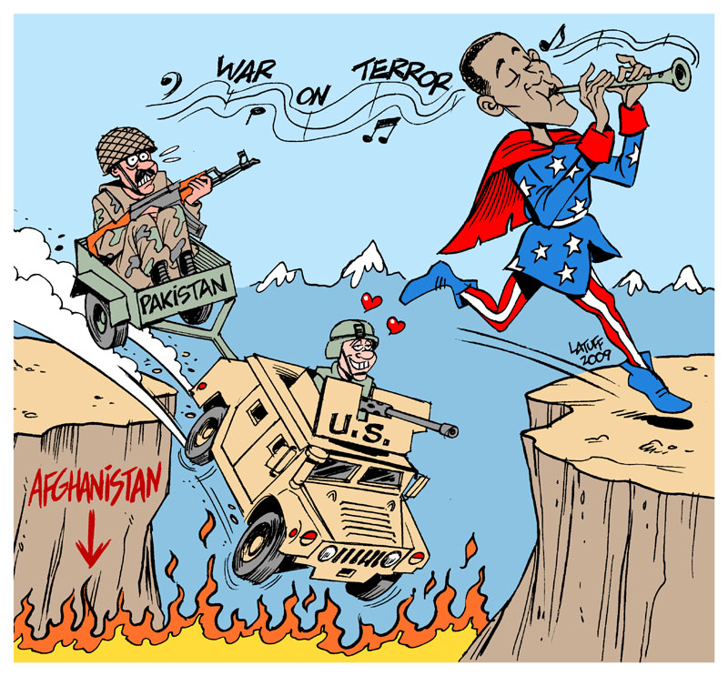 Carlos Latuff - Caricaturista Revolucionario Obama_Pied_Piper_of_Washington_by_Latuff2