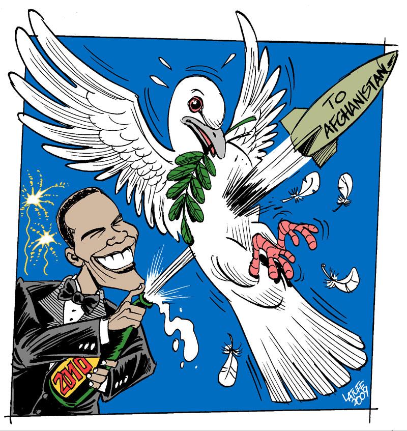 Carlos Latuff - Caricaturista Revolucionario Happy_2010_from_Obama_by_Latuff2