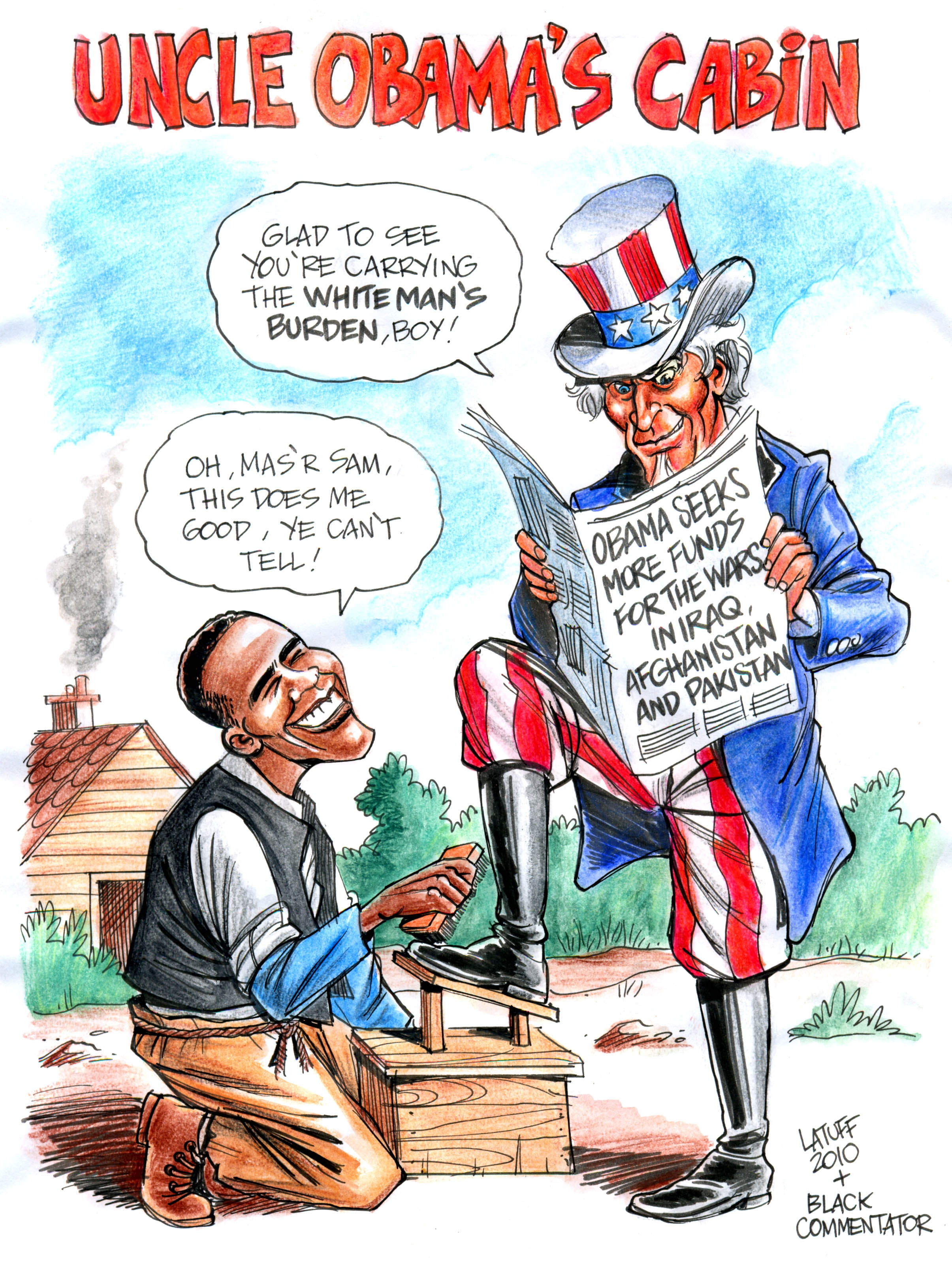 uncle sam kal the economist 2008