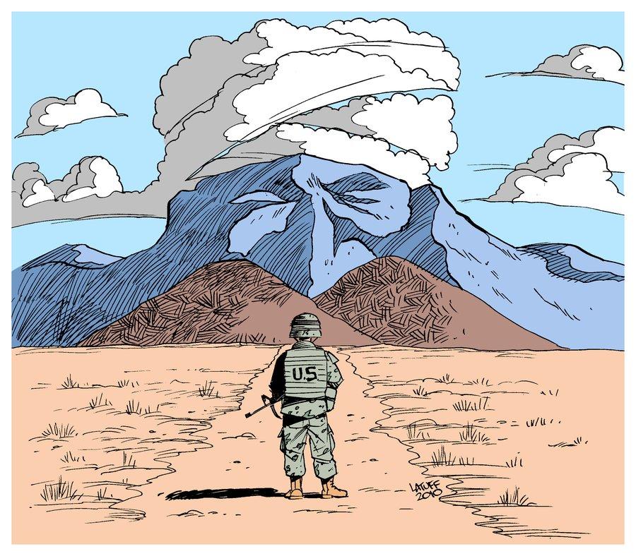 Carlos Latuff - Caricaturista Revolucionario Taliban_waits_for_you_by_Latuff2