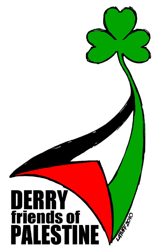 Derry Friends of Palestine by Latuff2