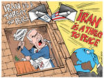 Iran is a THREAT to peace