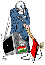 Closure of Kurdish TV