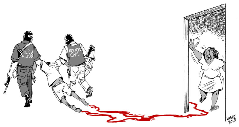 Massacre of Acari 20 years by Latuff2
