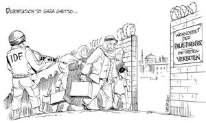 Deportation to Gaza Ghetto
