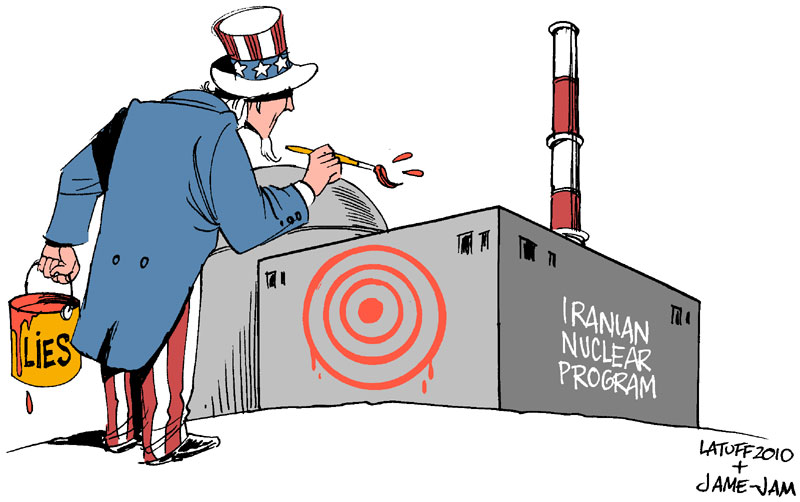 Targeting Iran nuclear program by Latuff2