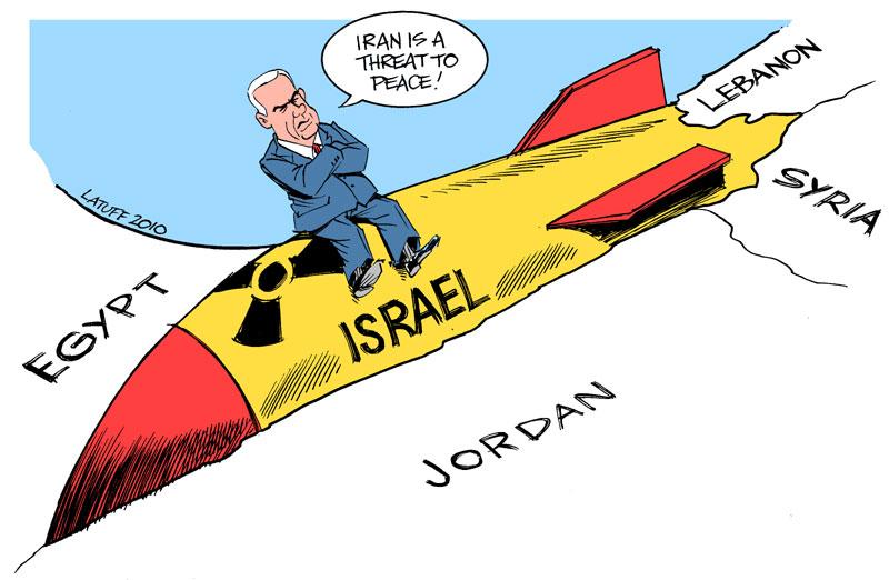 Carlos Latuff - Caricaturista Revolucionario Nuclear_Israel_by_Latuff2