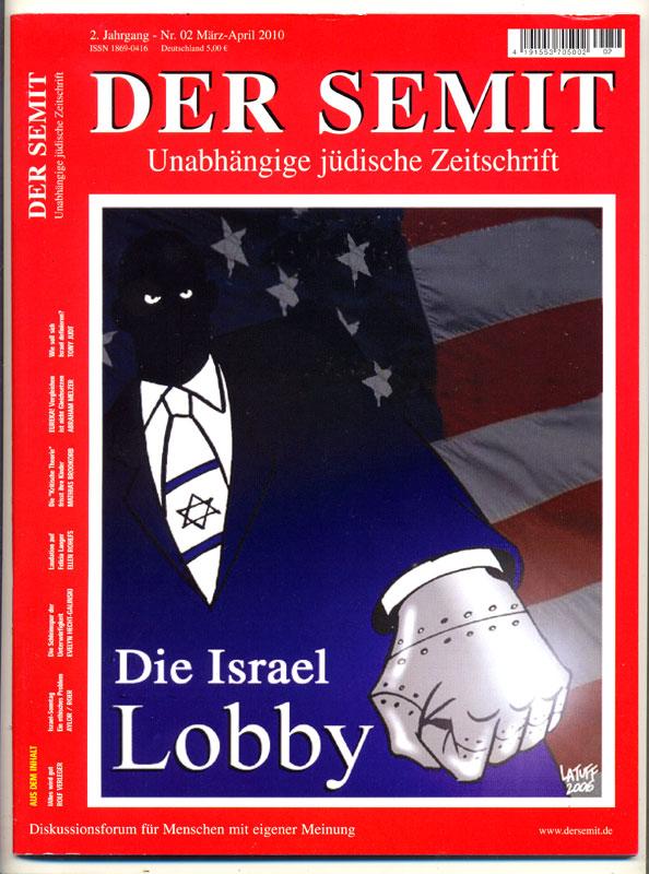 Der Semit magazine by Latuff2