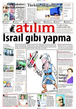 Cartoon in Turkish paper 3