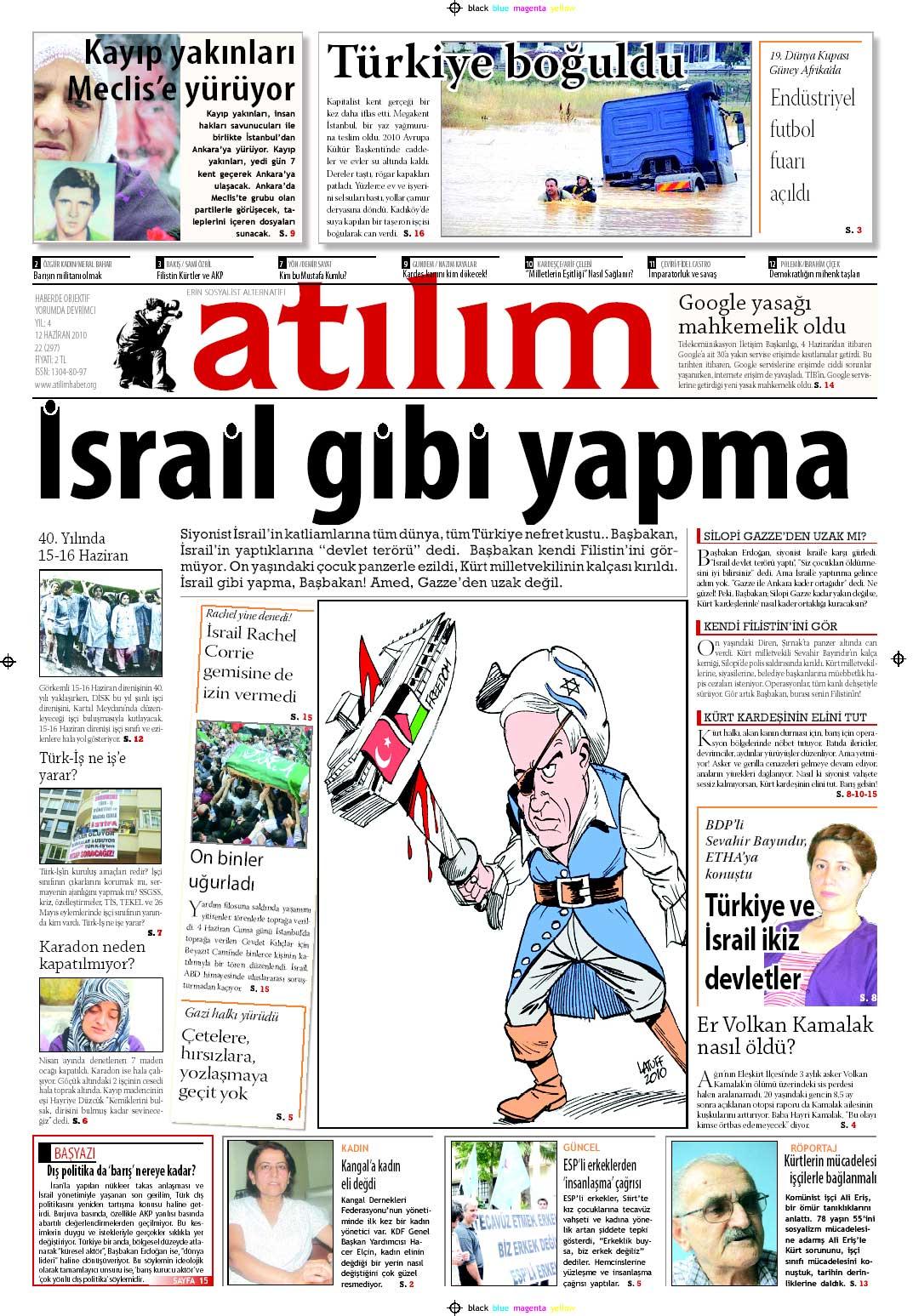 Cartoon in Turkish paper 3 by Latuff2