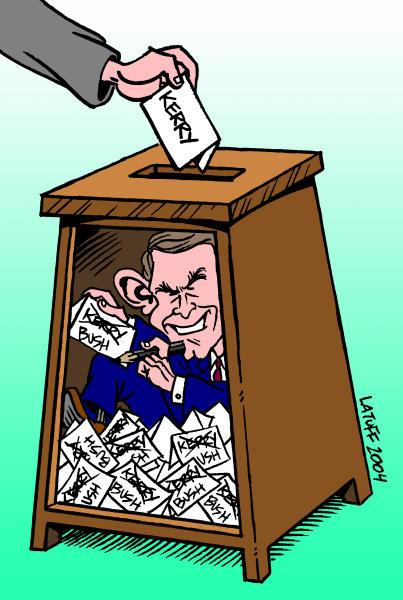 Fraud by Latuff2