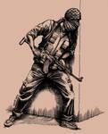Palestinian guerrilla