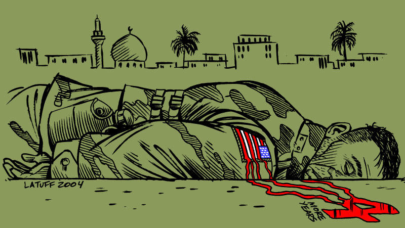 Four times more dead by Latuff2