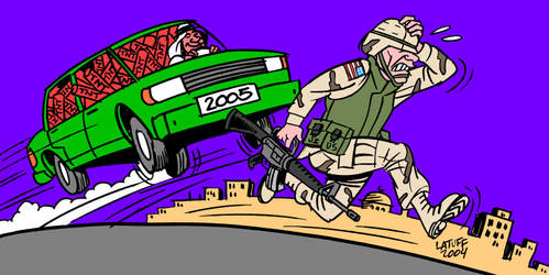 Dont expect a good year, GI by Latuff2