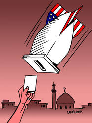 Elections in Iraq by Latuff2