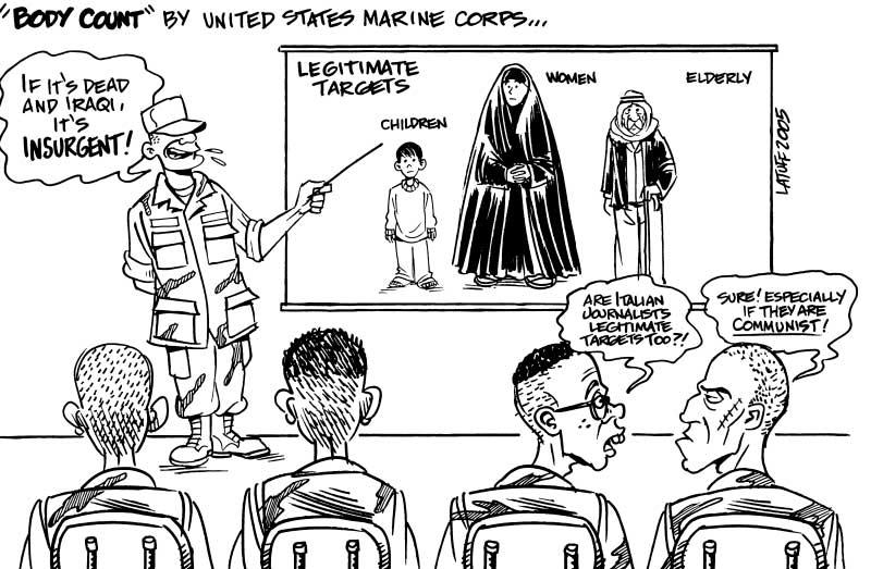 Iraq body count by Latuff2