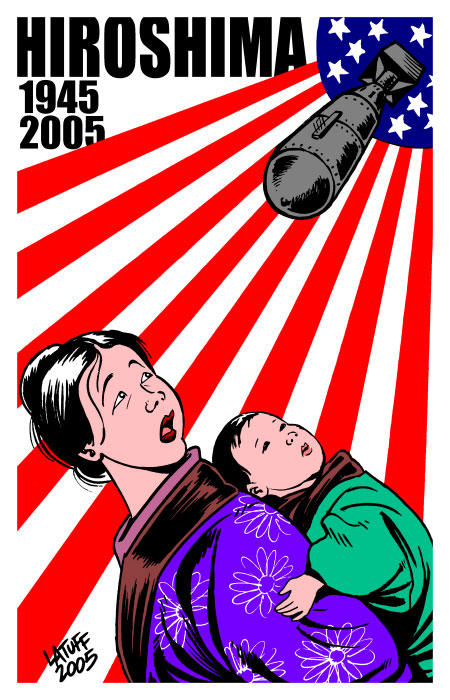 Remember HIROSHIMA by Latuff2