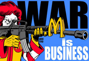 War is Business 3 by Latuff2