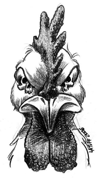 The Bird Flu by Latuff2