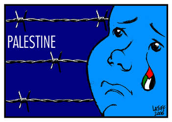 The Palestinian by Latuff2