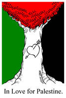 In Love for Palestine by Latuff2