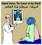 USA the cancer of the world