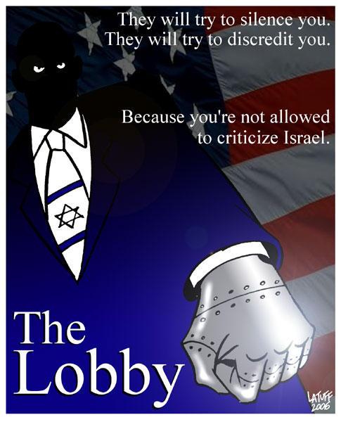 Israel cannot be criticized by Latuff2