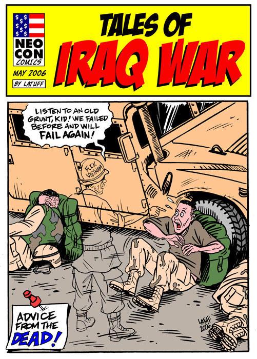 Tales of Iraq War by Latuff2