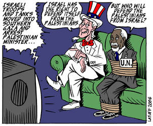 Israels right of defense by Latuff2