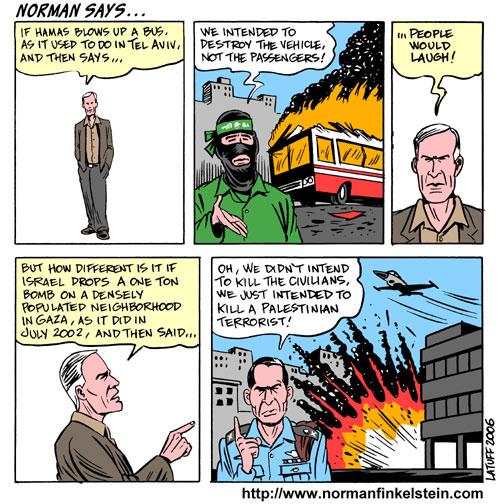 Norman Finkelstein says