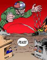 MASS KILLINGS by ISRAHELL by Latuff2