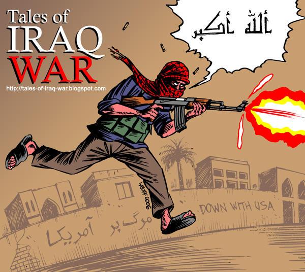 Tales of Iraq War comics by Latuff2