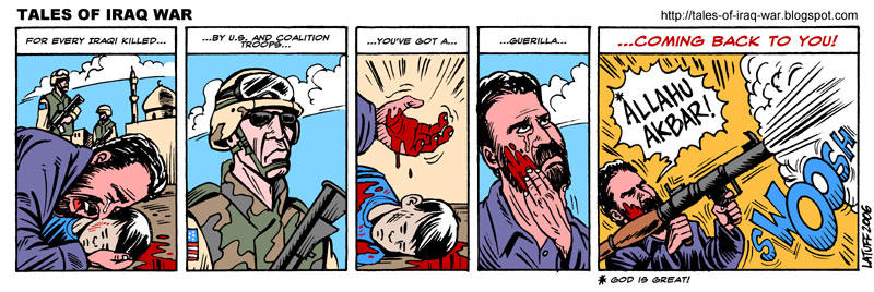 The logic of Iraq war by Latuff2