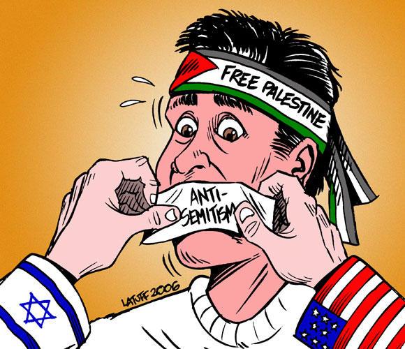Misuse of anti Semitism by Latuff2