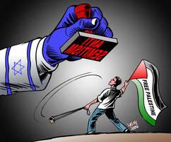 Misuse of anti Semitism 3 by Latuff2