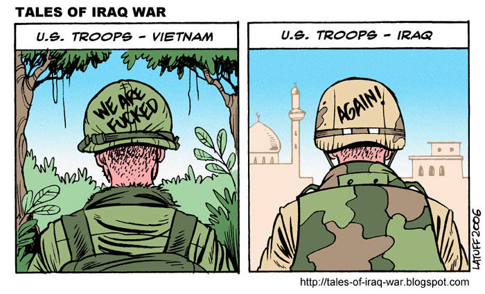Vietnam Deja Vu by Latuff2